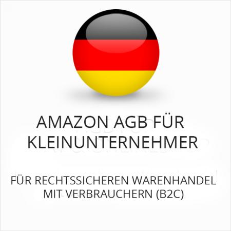 Amazon AGB für Kleinunternehmer B2C