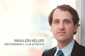 Max-Lion Keller ,IT-Recht Kanzlei München