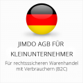 Abmahnsichere Jimdo AGB für Kleinunternehmer