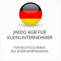Abmahnsichere Jimdo AGB für Kleinunternehmer B2C und B2B
