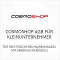 Cosmoshop AGB für Kleinunternehner B2C