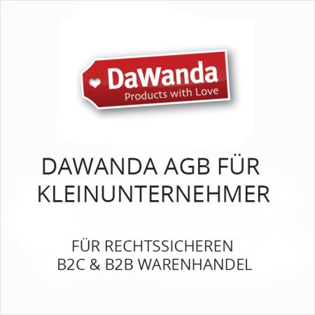 DaWanda AGB für Kleinunternehmer B2C und B2B