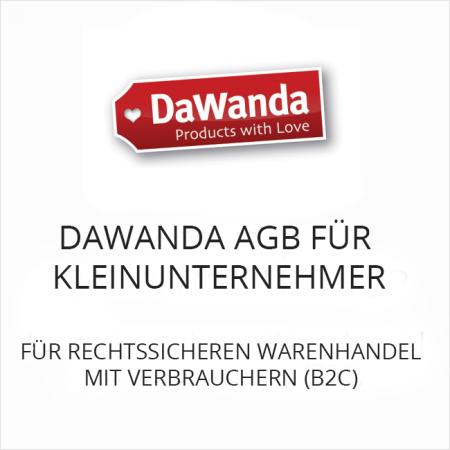 DaWanda AGB für Kleinunternehmer B2C