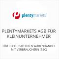 Plentymarkets AGB für Kleinunternehmer B2C