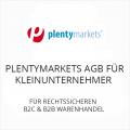 Plentymarkets AGB für Kleinunternehmer B2C und B2B