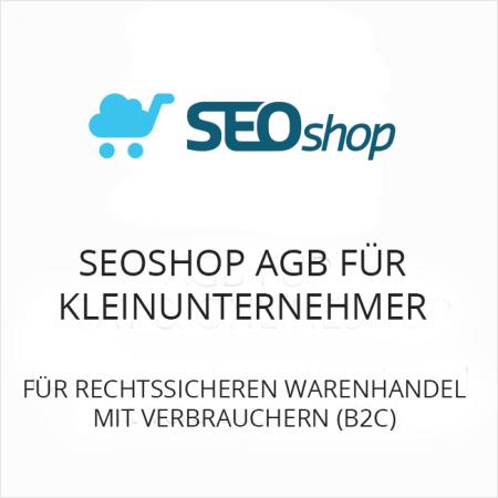 SEOshop AGB für Kleinunternehmer B2C