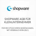 Shopware AGB für Kleinunternehmer B2C