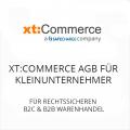 xt Commerce AGB für Kleinunternehmer B2C und B2B