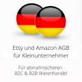 abmahnsichere Etsy und Amazon AGB für Kleinunternehmer B2C und B2B