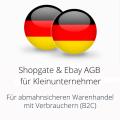 abmahnsichere Shopgate und Ebay AGB für Kleinunternehmer