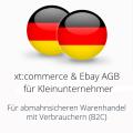 abmahnsichere xtcommerce und Ebay AGB für Kleinunternehmer