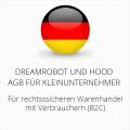 abmahnsichere Dreamrobot und Hood AGB für Kleinunternehmer