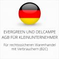 abmahnsichere Evergreen und Delcampe AGB für Kleinunternehmer