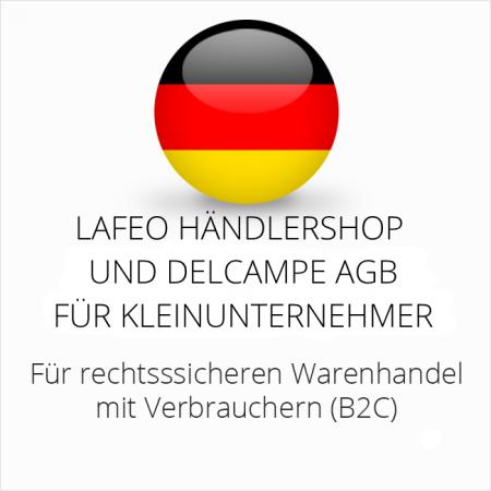 abmahnsichere Lafeo Händlershop und Delcampe AGB für Kleinunternehmer