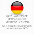 abmahnsichere Lafeo Händlershop und Yatego AGB für Kleinunternehmer