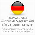 abmahnsichere Promobo und Mädchenflohmarkt AGB für Kleinunternehmer