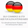 abmahnsichere Self-Commerce und Etsy AGB für Kleinunternehmer