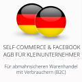 abmahnsichere Self-Commerce und Facebook AGB für Kleinunternehmer