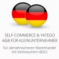 abmahnsichere Self-Commerce und Yatego AGB für Kleinunternehmer