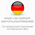 abmahnsichere ePages und Shopgate AGB für Kleinunternehmer