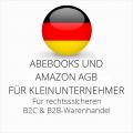 abmahnsichere Abebooks und Amazon AGB B2C und B2B für Kleinunternehmer
