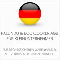 abmahnsichere Palundu und Booklooker AGB für Kleinunternehmer