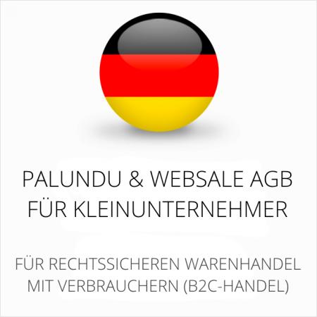 abmahnsichere Palundu und Websale AGB für Kleinunternehmer