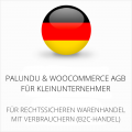 abmahnsichere Palundu und WooCommerce AGB für Kleinunternehmer