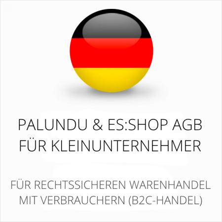 abmahnsichere Palundu und es-shop AGB für Kleinunternehmer