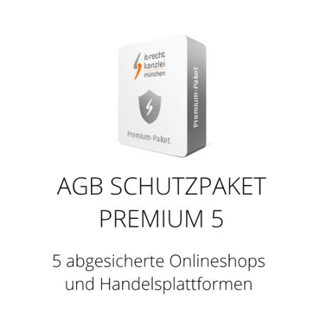Das AGB Schutzpaket Premium 5 inklusive Update-Service