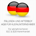 abmahnsichere Palundu und Afterbuy AGB B2C & B2B für Kleinunternehmer