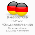 abmahnsichere Spandooly und Ebay AGB B2C & B2B für Kleinunternehmer