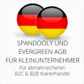 abmahnsichere Spandooly und Evergreen AGB B2C & B2B für Kleinunternehmer