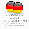 abmahnsichere Spandooly und XTC AGB B2C & B2B für Kleinunternehmer