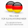 abmahnsichere 1blu AGB B2C und B2B für Kleinunternehmer