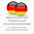 abmahnsichere AberLos und Facebook AGB B2C und B2B für Kleinunternehmer