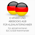 abmahnsichere e-vendo und Abebooks AGB B2C und B2B für Kleinunternehmer