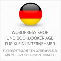 wordpress-shop-und-booklooker-agb-fuer-kleinunternehmer