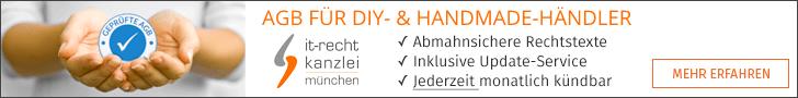 Kleinunternehmer-AGB für productswithlove.de, palundu.de, kayamo.eu und mehr